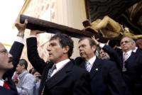 Antonio Banderas - Malaga - 10-04-2011 - Il viaggio a Lourdes di Ilary Blasi: cosa ha fatto e perché