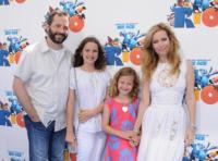 Judd Apatow, Leslie Mann - Hollywood - 10-04-2011 - Judd Apatow non rivela la nomination ai Golden Globe per festeggiare la figlia
