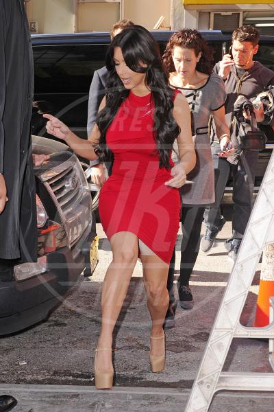 Kim Kardashian - New York - 14-04-2011 - Elle Fanning & Co.: le star vittime del wardrobe malfunction