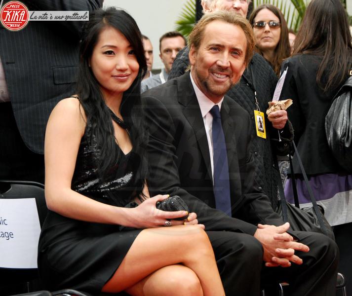 Alice Kim, Nicolas Cage - New Orleans - 17-04-2011 - Nicolas Cage libero su cauzione dopo l'arresto per una violenta lite con la moglie