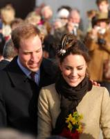 Trearddur Bay - 24-02-2011 - Kate Middleton in visita alla tomba di Lady Diana