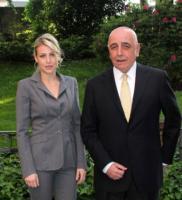 Adriano Galliani, Barbara Berlusconi - Milano - 21-04-2011 - I colpi di testa di Barbara Berlusconi