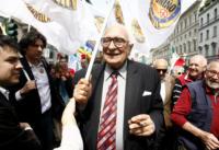 Marco Pannella - Milano - 25-04-2011 - Addio a Marco Pannella, aveva 86 anni