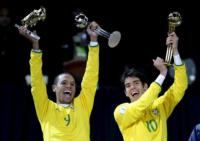Luis Fabiano, Kaká - San Paolo - 26-04-2011 - Kakà padre per la seconda volta a San Paolo