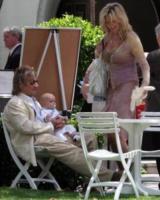 Alastair, Rod Stewart, Penny Lancaster - Beverly Hills - 16-05-2006 - Rod Stewart, il divorzio è ufficiale