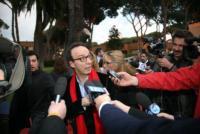 Roberto Benigni - Roma - 28-03-2011 - Confermata la presenza di Roberto Benigni nel nuovo film di Woody Allen