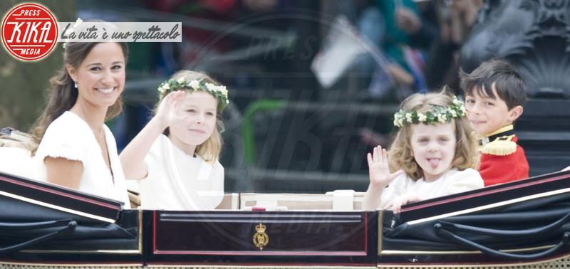 Grace Van Cutsem, Margarita Armstrong-Jones, Pippa Middleton - Londra - 22-04-2015 - Pippa Middleton: tutti i numeri del matrimonio (da 300mila euro)