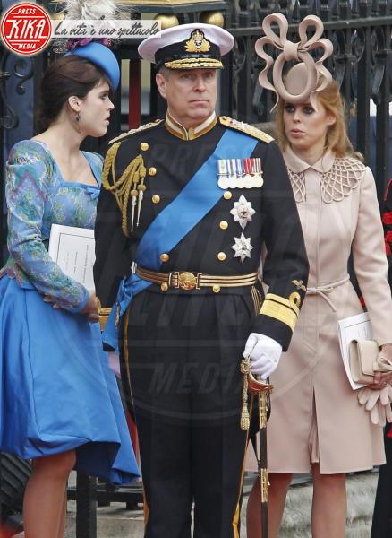 Principessa  Beatrice di York, Principe Andrea Duca di York, Principessa Eugenia di York - Londra - 01-05-2011 - La principessa Beatrice mette all'asta il cappello delle nozze
