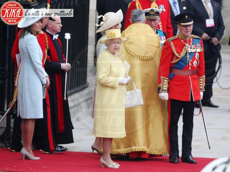 Carole Middleton, Regina Elisabetta II, Principe Filippo Duca di Edimburgo - Londra - 01-05-2011 - Dio salvi la regina: Elisabetta II compie 89 anni