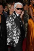 Karl Lagerfeld - New York - 02-05-2011 - Il Metropolitan Museum rende omaggio allo stilista Alexander McQueen durante l'annuale Costume Institute Gala Benefit