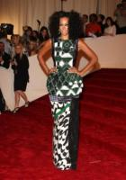 Solange Knowles - New York - 02-05-2011 - Il Metropolitan Museum rende omaggio allo stilista Alexander McQueen durante l'annuale Costume Institute Gala Benefit
