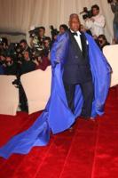 Andre Leon Talley - New York - 02-05-2011 - Il Metropolitan Museum rende omaggio allo stilista Alexander McQueen durante l'annuale Costume Institute Gala Benefit