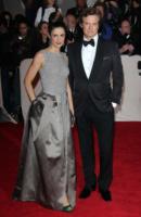 Livia Giuggioli, Colin Firth - New York - 02-05-2011 - Il Metropolitan Museum rende omaggio allo stilista Alexander McQueen durante l'annuale Costume Institute Gala Benefit