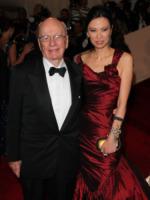 Wendy Murdoch, Rupert Murdoch - New York - 02-05-2011 - Il Metropolitan Museum rende omaggio allo stilista Alexander McQueen durante l'annuale Costume Institute Gala Benefit