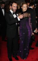 Carolyn Murphy, Tom Ford - New York - 02-05-2011 - Il Metropolitan Museum rende omaggio allo stilista Alexander McQueen durante l'annuale Costume Institute Gala Benefit