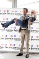 Roma - 05-05-2011 - Raphael Gualazzi è secondo all'Eurovision Song Contest