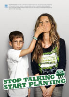 Felix Finkbeiner, Gisele Bundchen - 13-05-2011 - Plant For The Planet, a 15 anni in guerra per un mondo più verde