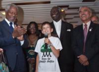Kofi Annan, Felix Finkbeiner - 13-05-2011 - Plant For The Planet, a 15 anni in guerra per un mondo più verde