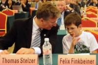 Thomas Stelzer, Felix Finkbeiner - 13-05-2011 - Plant For The Planet, a 15 anni in guerra per un mondo più verde