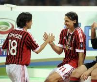 Zlatan Ibrahimovic, Filippo Inzaghi - Milano - 14-05-2011 - Da Uomini e Donne a Filippo Inzaghi: la nuova fiamma di Pippo