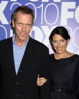 Hugh Laurie, Lisa Edelstein - New York - 17-05-2010 - Lisa Edelstein lascia House