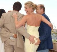 Kelsey Grammer, Rebecca Romijn, Hugh Jackman - Cannes - 22-05-2006 - Palpatine hot, scopri chi allunga le mani