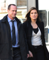 Chris Meloni, Mariska Hargitay - New York - 02-04-2010 - Chris Meloni lascia Law and Order