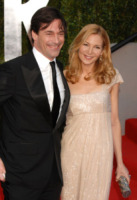 Jon Hamm, Jennifer Westfeldt - West Hollywood - 27-02-2011 - Torna Mad Men, e Jon Hamm dirige il primo episodio