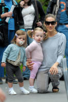 Marion Broderick, Tabhita, Sarah Jessica Parker - New York - 08-05-2011 - La cicogna in affitto continua ad avere successo