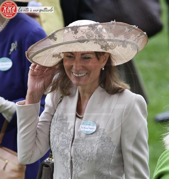 Carole Middleton - Londra - 16-06-2011 - Carole e Doria: suocere Windsor a confronto