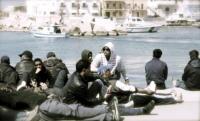 immigrati - Lampedusa - 28-03-2011 - Affonda un barcone di immigrati al largo di Lampedusa: 17 morti
