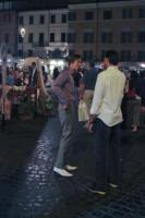 James Phelps - Roma - 01-07-2011 - Evanna Lynch e i gemelli James e Oliver Phelps a Roma in attesa di Harry Potter e i doni della morte: Parte II