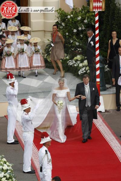 Michael Kenneth Wittstock, Principessa Charlene Wittstock - Monaco - 02-07-2011 - Amal e George: Hello! e People svelano l'abito della sposa