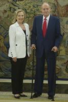 Juan Carlos  di Spagna, Hillary Clinton - Madrid - 02-07-2011 - Hillary Clinton: