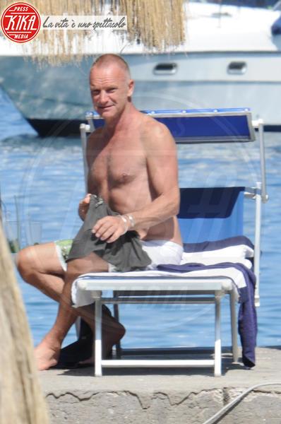 Sting - Ischia - 11-07-2011 - Trump e gli altri: i vip in italia per una vacanza 5 stelle