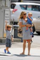 Levi Crow, Wyatt Crow, Sheryl Crow - New York - 12-07-2011 - Mamme in carriera: i figli sono la chiave del successo