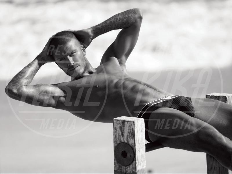 David Beckham - Roma - 21-01-2011 - Il nuotatore Luca Dotto è il nuovo volto di Emporio Armani