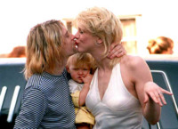 Kurt Cobain, Courtney Love - Universal City - 16-12-2009 - Le star che non sapevi fossero rimaste vedove da giovani