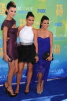 Kendall Jenner, Kourtney Kardashian, Kim Kardashian - Universal City - 07-08-2011 - Kim Kardashian vuole presto una gravidanza insieme alle due sorelle