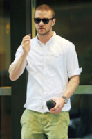 Justin Timberlake - New York - 23-08-2011 - Mila Kunis e Justin Timberlake negano di essersi scambiati foto a luci rosse