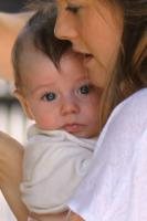 Bear Blu, Alicia Silverstone - New York - 23-08-2011 - Harper Seven è il nome più bello per i nati del 2011