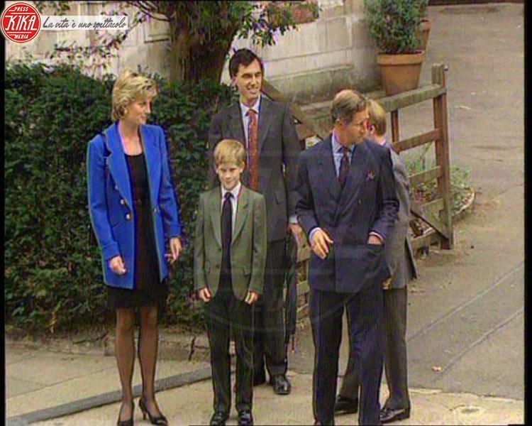Principe Carlo d'Inghilterra, Principe William, Lady Diana, Principe Harry - 06-09-1995 - 20 anni fa moriva Lady Diana, la principessa di cuori