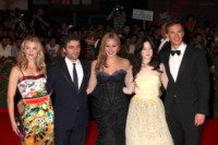 D'Arcy, Riseborough, Oscar Isaac, Natalie Dormer, Abbie Cornish - Venezia - 02-09-2011 - Festival di Venezia: Madonna raggiante sul red carpet di W.E.