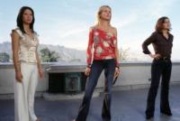 Drew Barrymore, Lucy Liu, Cameron Diaz - Hollywood - 27-06-2003 - Non ci sono piu' le Charlie's Angels di una volta