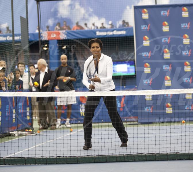 Michelle Obama - New York - 09-09-2011 - Gli Us Open risvegliano la passione per il tennis delle star