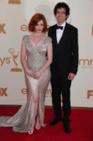 Geoffrey Arend, Christina Hendricks - Los Angeles - 18-09-2011 - Emmy 2011: gli arrivi sul red carpet
