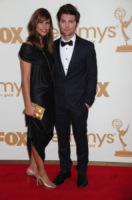 Naomi Sablan, Adam Scott - Los Angeles - 18-09-2011 - Emmy 2011: gli arrivi sul red carpet