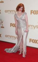 Christina Hendricks - Los Angeles - Emmy 2011: gli arrivi sul red carpet