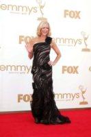 Lara Spencer - Los Angeles - 18-09-2011 - Emmy 2011: gli arrivi sul red carpet