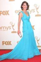 Cobie Smudler - Los Angeles - 19-09-2011 - Emmy 2011: gli arrivi sul red carpet